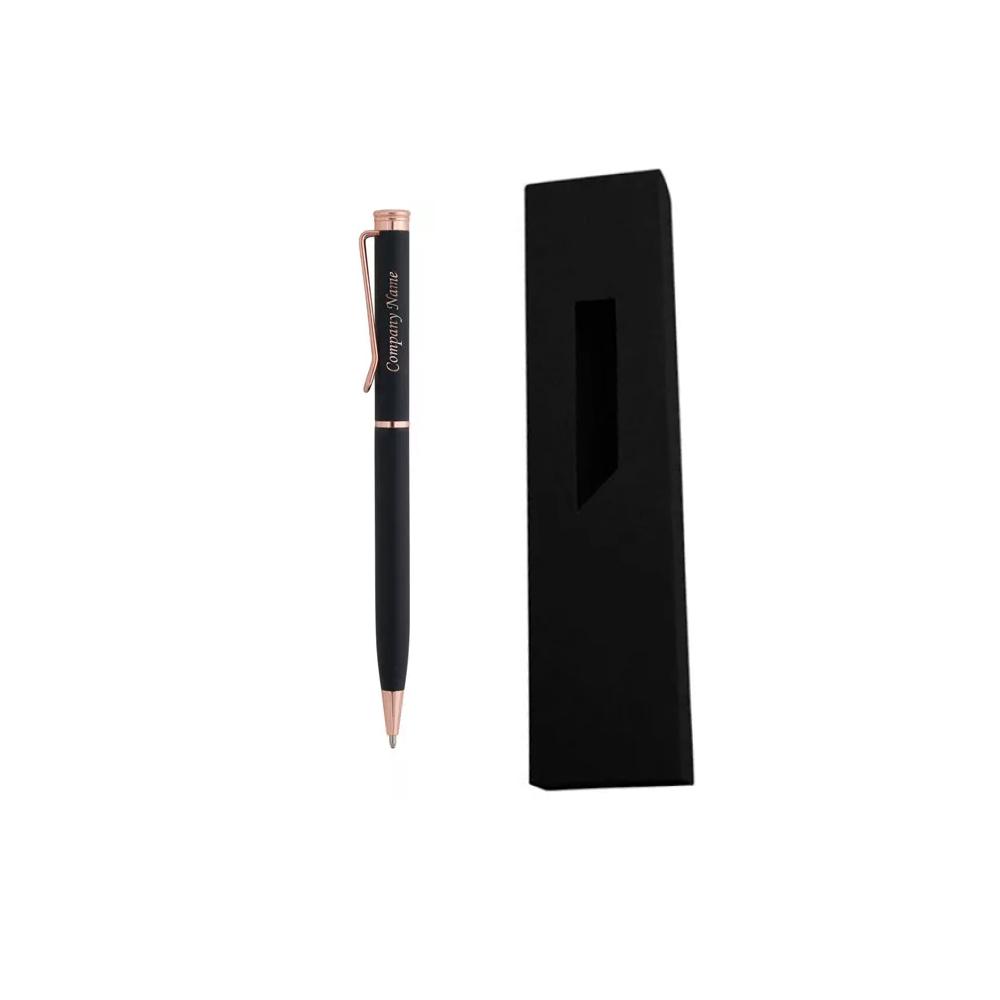 Гравиран Черен Метален химикал + картонена кутия