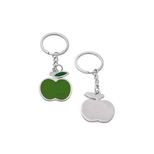 Гравиран ключодържател зелена ябълка