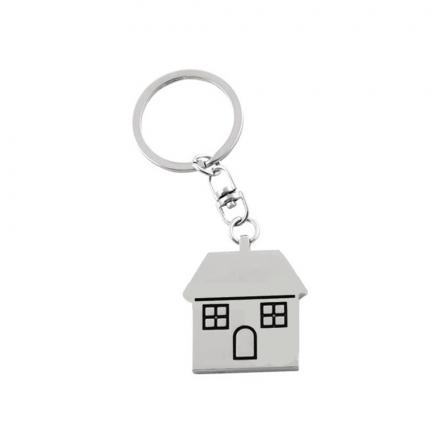 Гравиран Ключодържател Къща